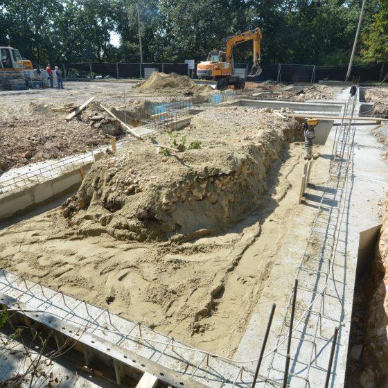 Gerecse Kapuja építkezés